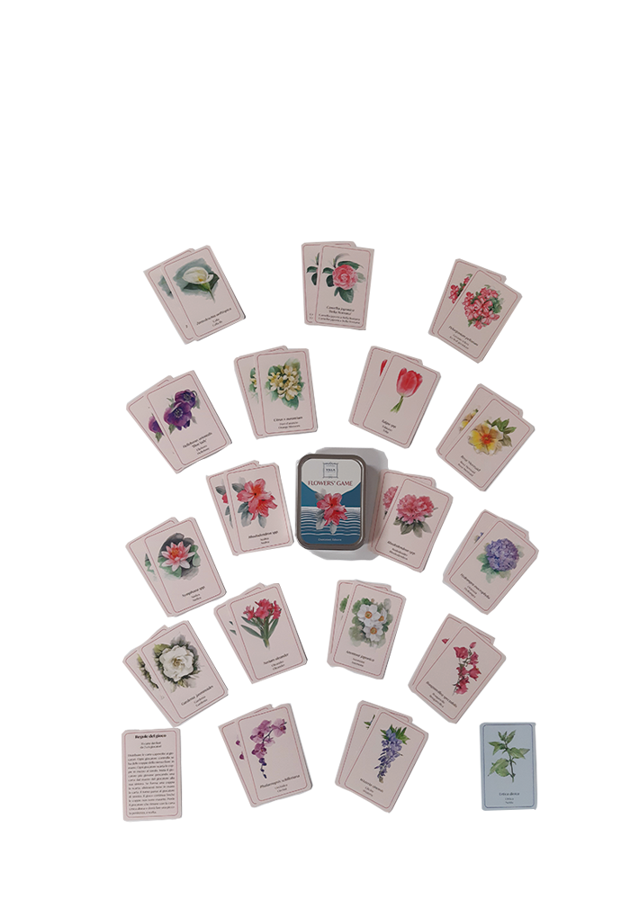 flower's game Villa Carlotta