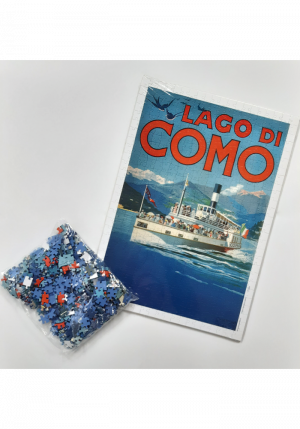 Puzzle manifesti lago di Como