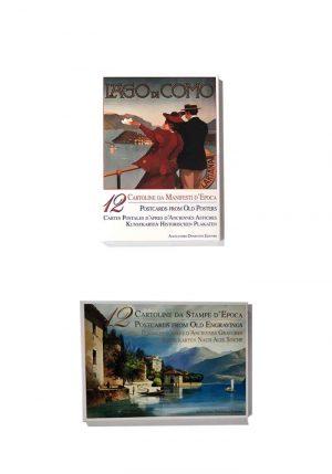 folder-12 cartoline del Lago di Como